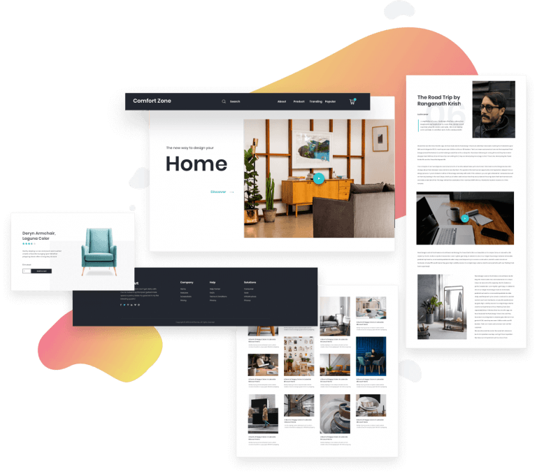 Homepage Theme Builder