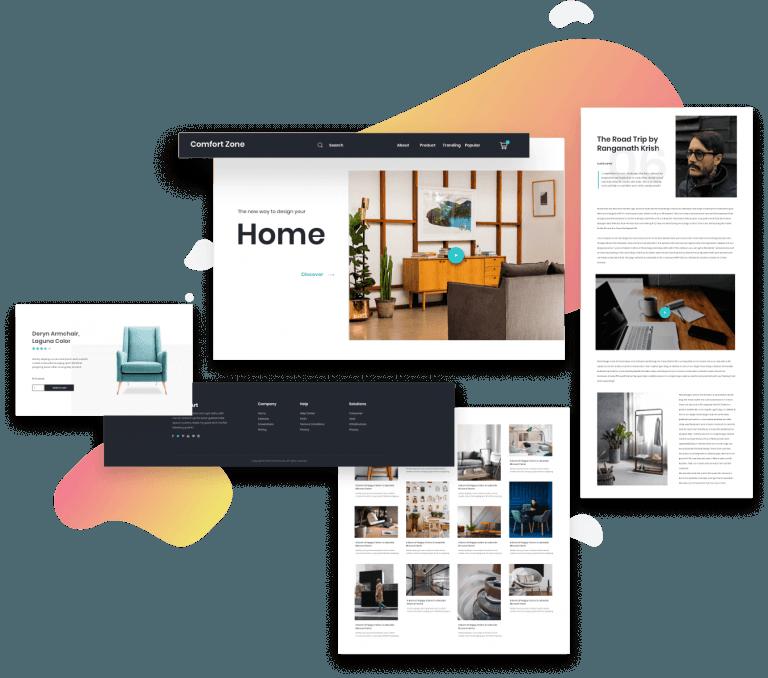 Homepage Theme Builder