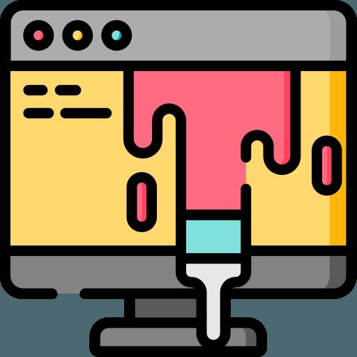 تغییر رنگ بندی کامل قالب
