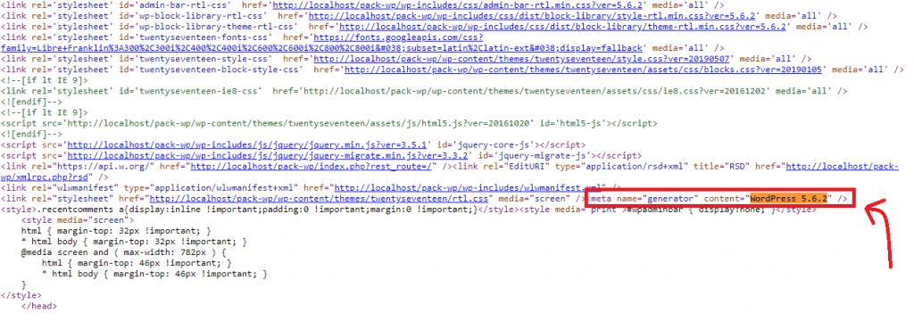 eliminate-wordpress-version-find-version