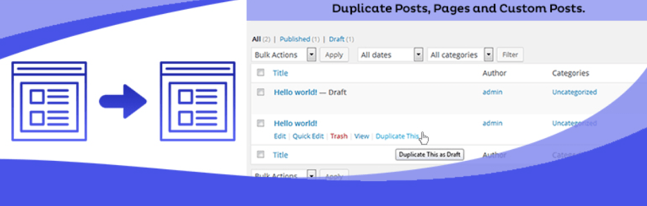 Duplicate Page