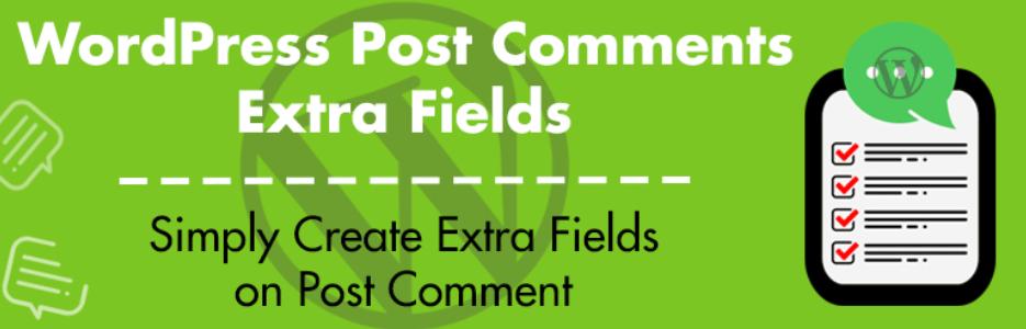 WordPress Comments Fields
